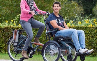 Rollstuhlfahrrad für bewegungseingeschränkte Mitglieder